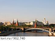 Купить «Вид на Московский Кремль», фото № 902740, снято 8 мая 2009 г. (c) Glen_Cook / Фотобанк Лори