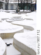 """Купить «Сад """"Аквариум"""" зимой», эксклюзивное фото № 907112, снято 19 января 2009 г. (c) Журавлев Андрей / Фотобанк Лори"""