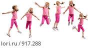 Купить «Девочка в розовом», фото № 917288, снято 16 июля 2018 г. (c) Владимир Мельников / Фотобанк Лори