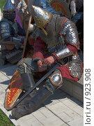 Купить «Усталый воин», фото № 923908, снято 12 июня 2009 г. (c) Евгений Мареев / Фотобанк Лори