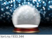 Купить «Пустой стеклянный шар», иллюстрация № 933344 (c) Сергей Галушко / Фотобанк Лори