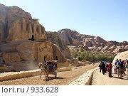 Купить «Петра, Иордания», фото № 933628, снято 26 ноября 2008 г. (c) Irina Opachevsky / Фотобанк Лори
