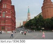 Купить «Москва. Кремль.», фото № 934500, снято 22 июня 2006 г. (c) Булат Каримов / Фотобанк Лори