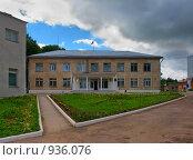 Купить «Здание Городской Думы, Таруса», фото № 936076, снято 14 июня 2009 г. (c) Fro / Фотобанк Лори