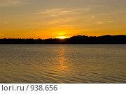 Закат. Стоковое фото, фотограф Подбивалова Юлия / Фотобанк Лори