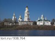 Купить «Дивеево. Панорама монастыря», фото № 938764, снято 2 мая 2009 г. (c) Акимов Александр / Фотобанк Лори