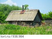 Купить «Деревенская баня в Нижегородской области», фото № 938984, снято 11 июня 2009 г. (c) Олег Тыщенко / Фотобанк Лори