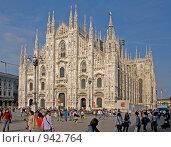 Купить «Миланский кафедральный собор (Дуомо). Италия.», фото № 942764, снято 9 мая 2009 г. (c) GrayFox / Фотобанк Лори