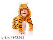Купить «Малыш- тигр», фото № 943628, снято 7 мая 2009 г. (c) Ольга Сапегина / Фотобанк Лори