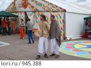 Купить «Кришнаиты. Праздник колесниц», эксклюзивное фото № 945388, снято 6 июня 2009 г. (c) lana1501 / Фотобанк Лори