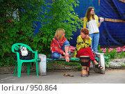 Купить «Кришнаиты. Праздник колесниц», эксклюзивное фото № 950864, снято 6 июня 2009 г. (c) lana1501 / Фотобанк Лори