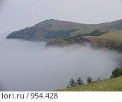 Туман над водой. Стоковое фото, фотограф Андрей Бабкин / Фотобанк Лори