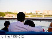 Купить «Прогулка на теплоходе по Москве реке», фото № 956012, снято 1 июня 2009 г. (c) Дарья Филин / Фотобанк Лори