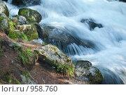 Горный поток. Стоковое фото, фотограф Альберт Черных / Фотобанк Лори