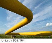 Купить «Газопровод высокого давления», фото № 959164, снято 4 июля 2009 г. (c) Andrey M / Фотобанк Лори