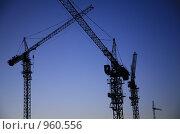 Строительство. Стоковое фото, фотограф Юлия Новикова / Фотобанк Лори