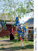 Буддийские монахи. Иволгинский дацан. Бурятия. Стоковое фото, фотограф Александр Подшивалов / Фотобанк Лори