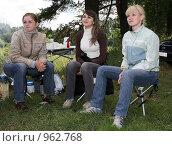 Купить «На пикнике», фото № 962768, снято 4 июля 2009 г. (c) Юрий Викулин / Фотобанк Лори