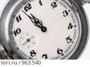 Купить «Часы», фото № 963540, снято 17 декабря 2008 г. (c) Сергей Галушко / Фотобанк Лори