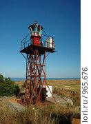 Купить «Маяк на острове Березань, Украина», фото № 965676, снято 20 июня 2009 г. (c) крижевская юлия валерьевна / Фотобанк Лори