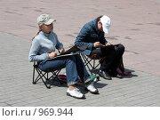 Художники на улице (2009 год). Редакционное фото, фотограф gooclia / Фотобанк Лори