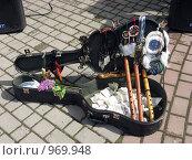 Футляр гитары. Стоковое фото, фотограф gooclia / Фотобанк Лори