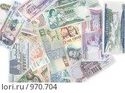 Купить «Деньги разных стран», фото № 970704, снято 27 июня 2009 г. (c) Руслан Кудрин / Фотобанк Лори