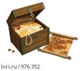 Купить «Пиратские сокровища», иллюстрация № 976352 (c) Лукиянова Наталья / Фотобанк Лори