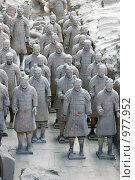 Купить «Воины терракотовой армии», фото № 977952, снято 18 мая 2009 г. (c) Марина Коробанова / Фотобанк Лори