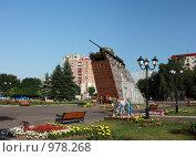 Купить «Площадь Победы во Владикавказе», фото № 978268, снято 10 июля 2009 г. (c) Андрей Багаев / Фотобанк Лори