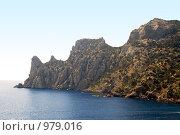 Купить «Горы и море», фото № 979016, снято 5 августа 2008 г. (c) Сергей Сухоруков / Фотобанк Лори