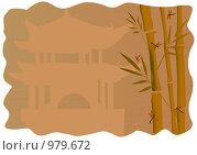 Картина в китайском стиле. Стоковая иллюстрация, иллюстратор Александр Асланов / Фотобанк Лори