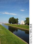 Морской Канал, ведущий к Финскому заливу (2009 год). Редакционное фото, фотограф Татьяна Князева / Фотобанк Лори