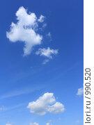Купить «Два облака», фото № 990520, снято 16 июля 2009 г. (c) Erudit / Фотобанк Лори