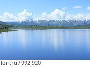 Горное озеро. Алтай, эксклюзивное фото № 992920, снято 16 июля 2009 г. (c) Яна Королёва / Фотобанк Лори