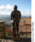 Купить «Рыцарские доспехи. Сан-Марино. Италия», фото № 993940, снято 5 ноября 2008 г. (c) Колчева Ольга / Фотобанк Лори