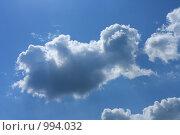 Купить «Кучевые облака и небо», фото № 994032, снято 16 июля 2009 г. (c) Erudit / Фотобанк Лори