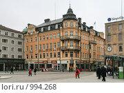 Купить «Городской пейзаж (Уппсала, Швеция)», фото № 994268, снято 16 марта 2009 г. (c) Александр Секретарев / Фотобанк Лори