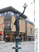 Купить «Городской пейзаж.  (Уппсала, Швеция)», фото № 994272, снято 16 марта 2009 г. (c) Александр Секретарев / Фотобанк Лори