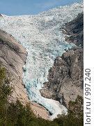 Купить «Ледник», фото № 997240, снято 18 августа 2008 г. (c) Роман Мухин / Фотобанк Лори