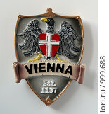 Купить «Сувенирный магнит. Вена - столица Австрии.», фото № 999688, снято 31 мая 2009 г. (c) Николай Комаровский / Фотобанк Лори