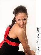 Купить «Очаровательная юная модель», фото № 1002708, снято 24 июля 2009 г. (c) Павел Гундич / Фотобанк Лори