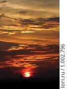 Городской пейзаж. Рассвет. Стоковое фото, фотограф Акимов Евгений / Фотобанк Лори