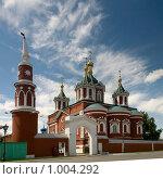 Коломна. Крестовоздвиженский собор (2008 год). Стоковое фото, фотограф Голованова Светлана / Фотобанк Лори