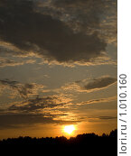 Закат. Стоковое фото, фотограф Вячеслав Маслов / Фотобанк Лори
