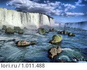 Купить «Водопад Игуасу», фото № 1011488, снято 21 июня 2018 г. (c) Leksele / Фотобанк Лори