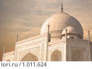 Купол Тадж Махала, Индия (2006 год). Стоковое фото, фотограф Дарья Мирошникова / Фотобанк Лори