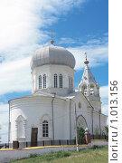 Церковь в Сыростане. Стоковое фото, фотограф Толкачёв Евгений / Фотобанк Лори