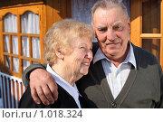 Купить «Портрет пожилой пары», фото № 1018324, снято 12 апреля 2009 г. (c) Losevsky Pavel / Фотобанк Лори