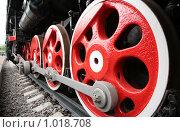 Купить «Колеса локомотива», фото № 1018708, снято 15 сентября 2019 г. (c) Losevsky Pavel / Фотобанк Лори